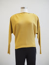 Apricot Women's Clothing Snap Neck Mustard Top
