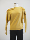 Apricot Snap Neck Mustard Top
