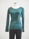 Papillon Emerald Long Sleeve Knit Top