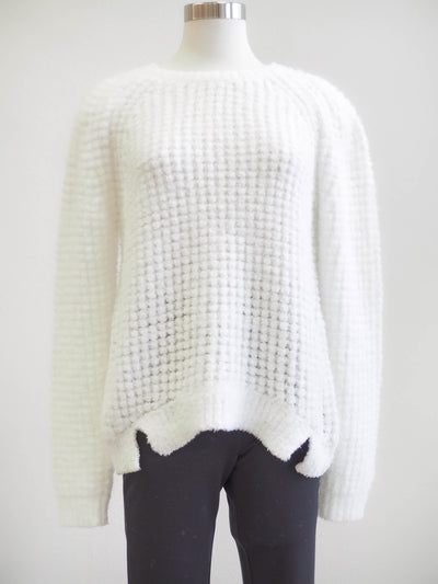 Tribal Soft Cream Crew Sweater
