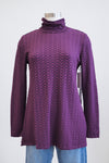 Habitat Wine Pucker Ruch Turtle Neck Tunic