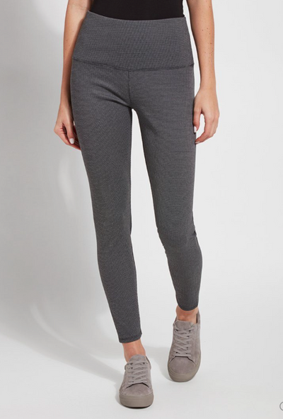 Lysse Signature Peppered Stripe Legging