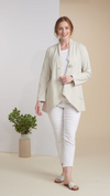 Habitat Cotton Button Shawl Jacket