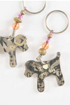 Natural Life Token Dog Key Chain