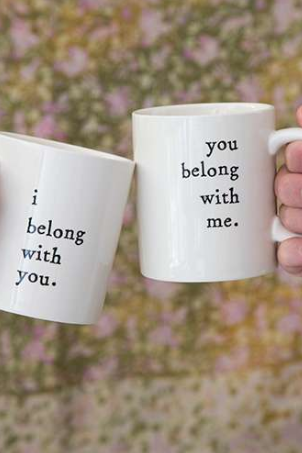 Set of Belong Mugs