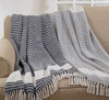 Saro Throw Diamond Weave