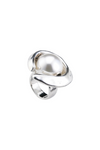 UNO DE 50 Half Moon Pearl Ring