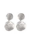 Uno de 50 SCALES Silver Earrings