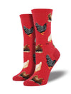 Sock Smith Hen House Red Socks