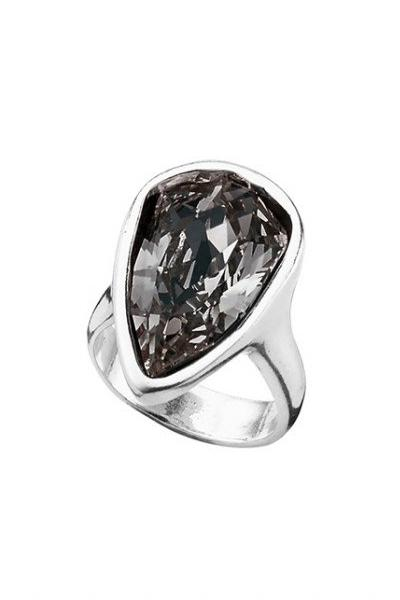 Uno de 50 Strut Grey SWAROVSKI Crystal Ring