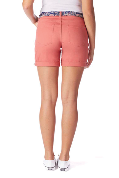 Jag Jeans Carter Girlfriend Short in Rose
