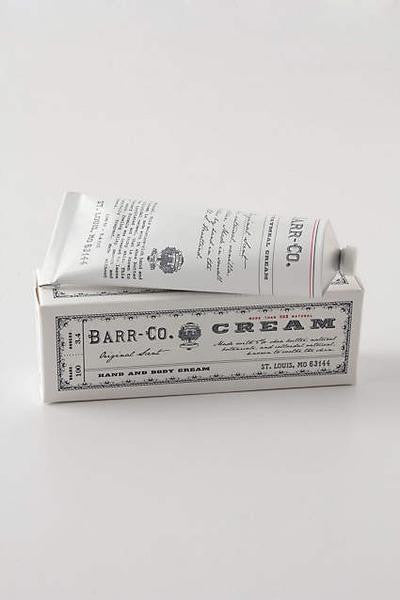 Barr Co Original Cream