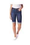 Jag Jeans Nina Denim Bermuda in Night Breeze