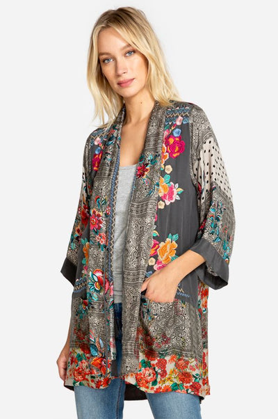 Johnny Was Ellamo Embroidered Kimono in