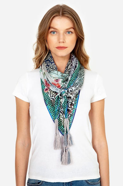 Johnny Was- Retrix Scarf- Multi