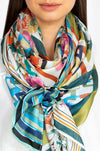 Johnny Was Foulard Scarf- Multi