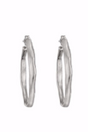 Uno de 50 Ohmmm… Silver Hoop Earrings