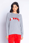 Pj Salvage Joyfrul Spirit Long Sleeve Top