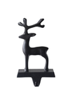 Metal Reindeer Stocking Holder