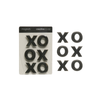 XO Pewter Magnets, Set of 6