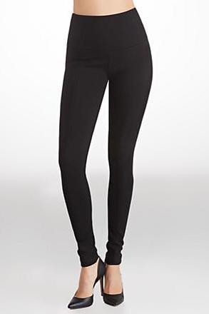 Lysse Center Seam Ponte Legging Black