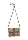 Mona B Live Love Wander Fold-over Crossbody Bag
