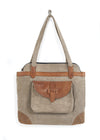Mona B Jolene Canvas Shoulder Bag