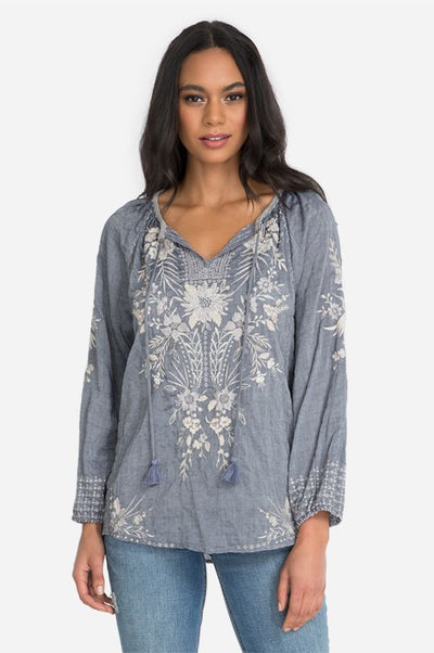 Johnny Was Oleander Marrakesh Blouse