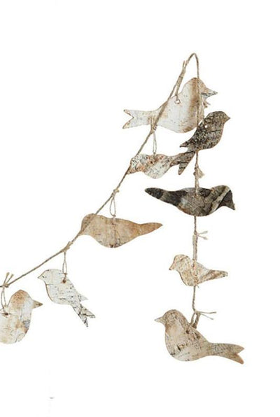 Birch Bird Garland
