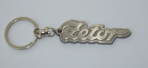 Zetor Tractor Metal Key Ring - Roy Perfect LTD Gifts - 1