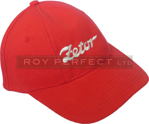 Zetor Tractor Red Baseball Cap - Roy Perfect LTD Gifts - 1