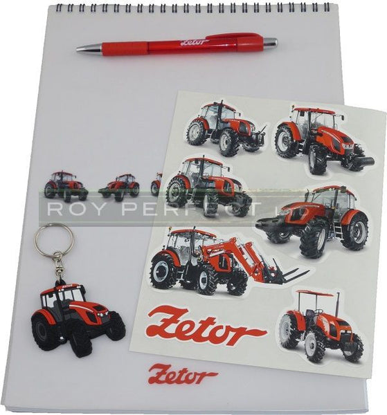Zetor Notepad Gift Set - Roy Perfect LTD Gifts - 1