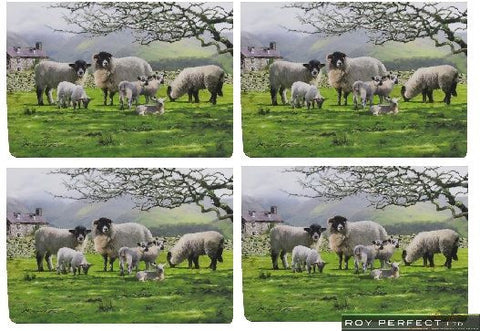 Countryside Sheep Placemats - Roy Perfect LTD Gifts - 1