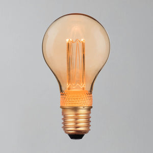 Deco Retro Gold GLS 65lm 2.3w LED Filament Bulb - E27