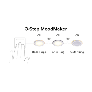 Elkton LED Downlight with 3-Step MoodMaker