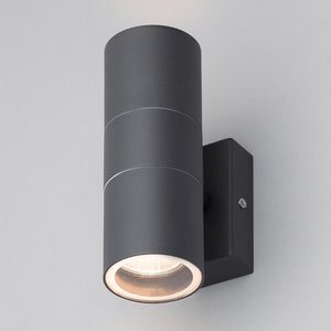 Lampsy Astor Up & Down Wall Light - Anthracite-Lampsy