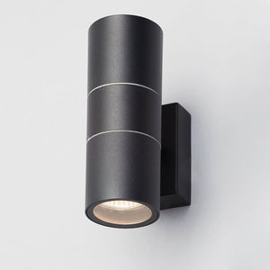 Lampsy Astor Up & Down Wall Light - Black-Lampsy