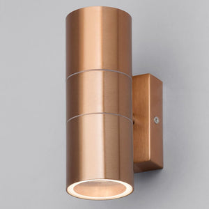 Lampsy Astor Up & Down Wall Light - Copper-Lampsy