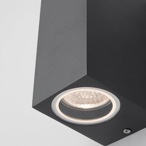 Lampsy Axel Cube Up & Down Wall Light - -Lampsy