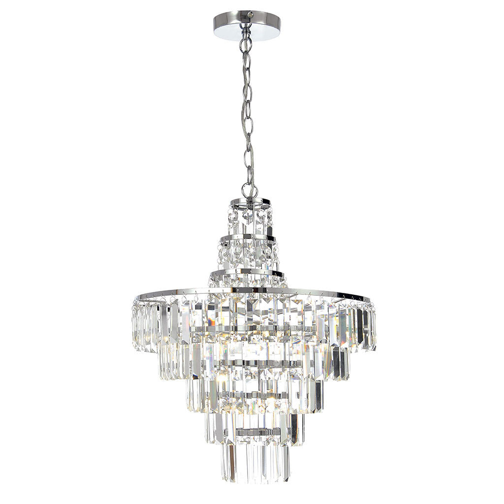 Forum Belle 4 Bathroom Chandelier - Bathroom - Lampsy