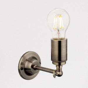 Lampsy FLR Blake Wall Light - Antique Brass-Lampsy