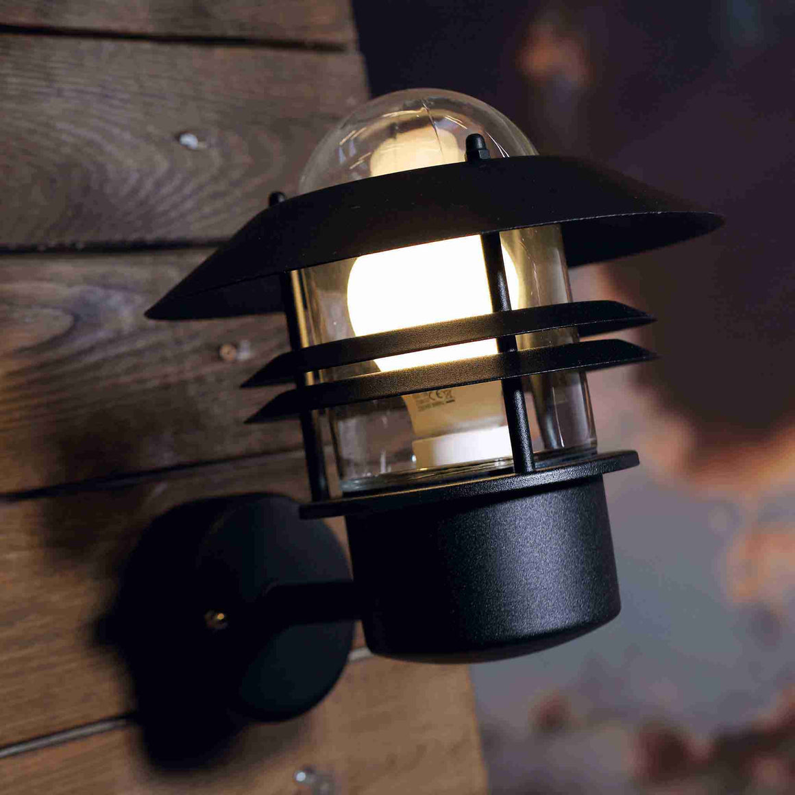 Nordlux Blokhus Black Outdoor Wall Light - Outdoor Lighting - Lampsy