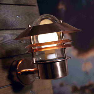 Nordlux Blokhus Wall Light - Copper-Lampsy
