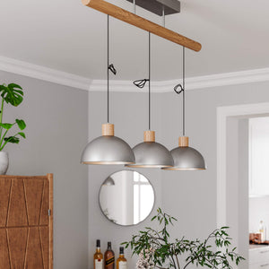 Buckler 3 Light Island Pendant