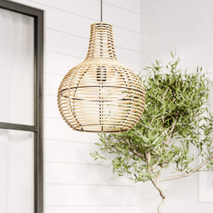 Granada Rattan Pendant Light