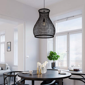 Seagrass Woven Pendant Light