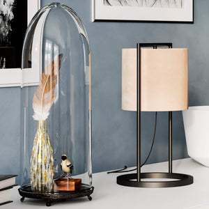 Vieste Velvet Shade Table Lamp