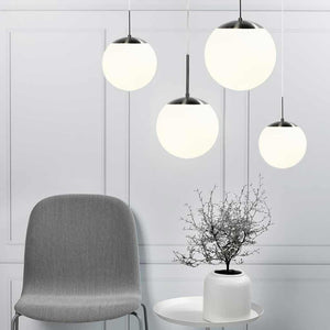 Cafe 15 Frosted Glass Pendant Light