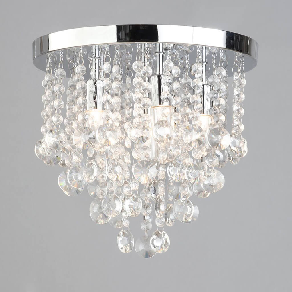 Forum Celeste 6 Bathroom Chandelier - Bathroom - Lampsy