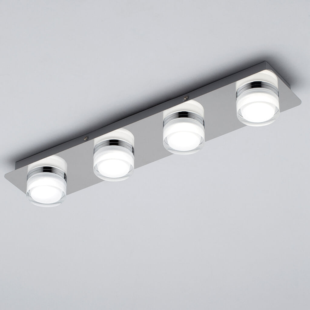 Cole 4 Light Bar LED Bathroom Light